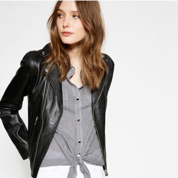 cdbdc71190 The Kooples Jackets & Coats | Lambskin Leather Jacket | Poshmark